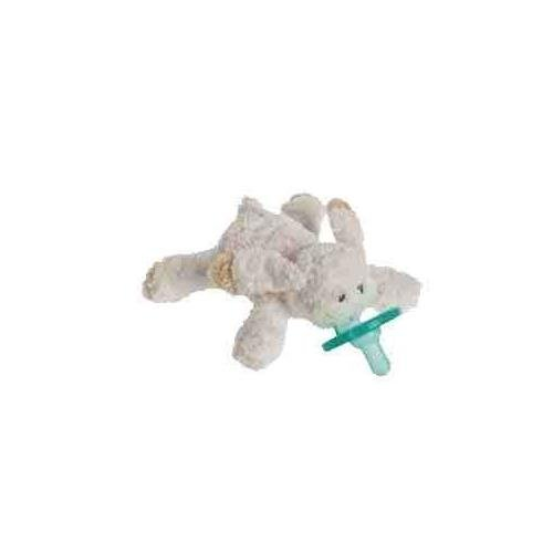 Bunny Pacifier - Mary Meyer OATMEAL BUNNY WUBBANUB w Attached Soothie Pacifier by Mary Meyer
