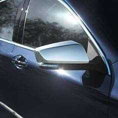 eLoveQ Chrome TOP Half Mirror Covers FITS 2014-2018 Chevy Impala ^NOT FIT Limited Model^