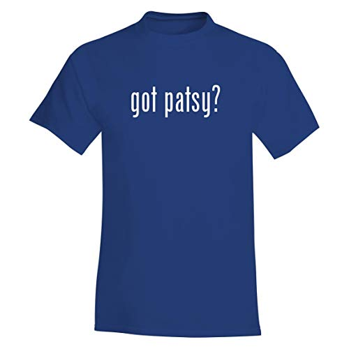 The Town Butler got Patsy? - A Soft & Comfortable Men's T-Shirt, Blue, XX-Large