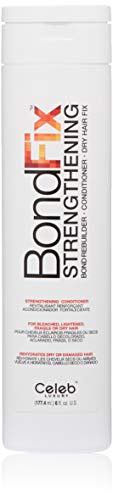 Celeb Luxury BondFix Strengthening Bond Rebuilder Moisturizing Hair Conditioner Dry Hair Fix: Strengthens, repairs bleached, highlighted, dry, damaged and color treated hair, prevents breakage