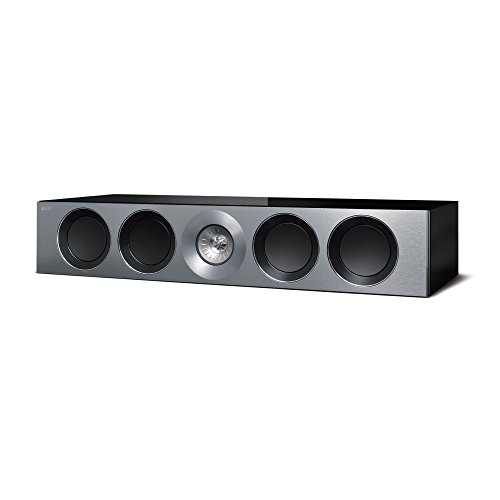 KEF Reference 4c Center Channel Loudspeaker – High Gloss Piano Black (Single)