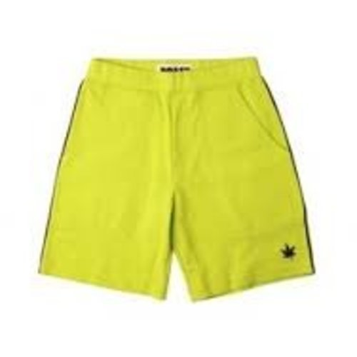 Boast Youth Lime Green Tennis Spots Shorts (X-Large), Boys Men Athletes