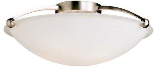 Kichler 8407NI Semi-Flush 5-Light, Brushed Nickel