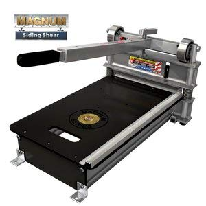 13 in. MAGNUM Siding Cutter with blade for hardie plank, vinyl siding, fiber-cement siding, and trim