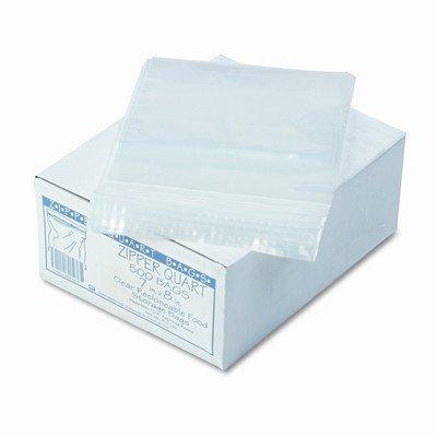 Webster WBIZIPQUART Handi Sandwich Storage Bags, Zipper, Resealable, 1 quart
