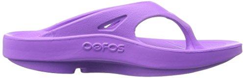 OOFOA|#OOfos Ooriginal Thong, Sandalias Atléticas para Mujer MORADO