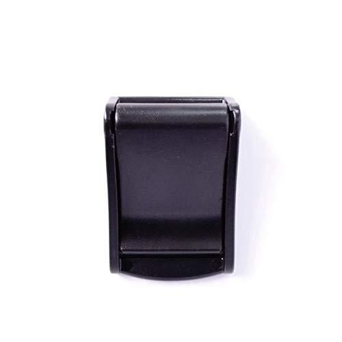 100個セット NIFCO ニフコ ST38 プラスチック バックル 黒 38mm巾用 ベルトの長さ調節などに 100個セット  B07K2V35QK