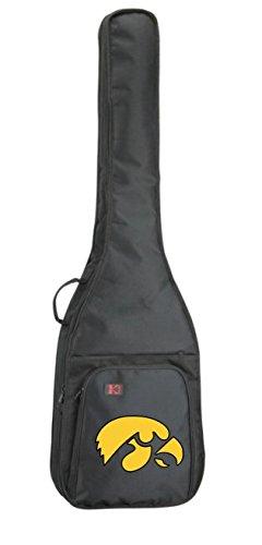NCAA Collegiate Bass Guitar Bag - University of Iowa Hawkeyes