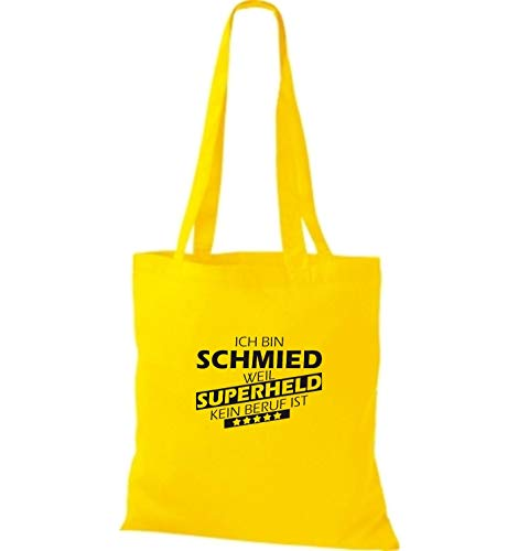 Shirtstown Para Bolso De Tela Amarillo Mujer Algodón qW4RzZ6q