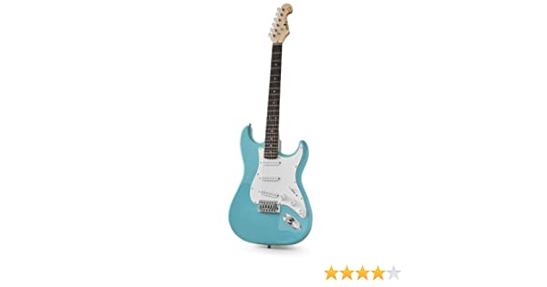 Chord CAL63 Guitarra Eléctrica turquesa: Amazon.es: Electrónica