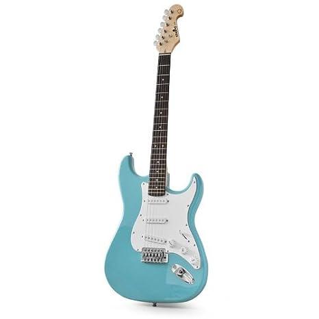 Chord Guitarra eléctrica CAL63 6 Cuerdas Turquesa Aliso: Amazon.es: Juguetes y juegos
