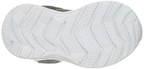 SKECHERS Skech Stepz 95060N Charcoal CCRY Jungen Klett, Größe:24;Farbe:Mehrfarbig