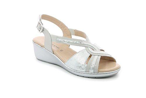 GRUNLAND SA1792 COFA Sandalo Donna P. Grigio