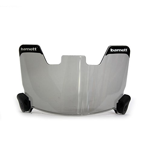 (Barnett Football and Lacrosse Helmet Eye-shield Visor, Tinted)