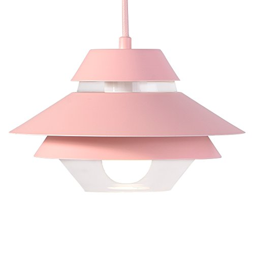 Pink Glass Light Pendant