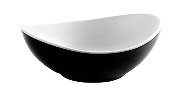 Lacor - 63171 - Bol Oval Fuji De Melamina 18x13x6 cm - Blanco ...