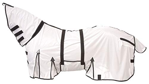 Tough 1 Deluxe Contour Horse Fly Scrim with Neck Cover Belly Wrap Style Size 78