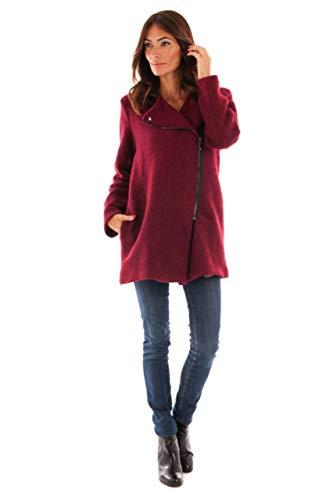 Le Manteau Laine Col Tailleur Femme Du En Doucel Comptoir Rouge 6twqAfd