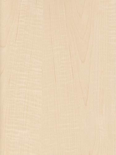 Exotic Tiger Curly Maple Medium Figured Wood Veneer Paper Back 2' X 8' (24
