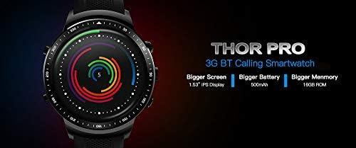 Festnight Thor Pro 3G WCDMA GPS Smart Watch Phone1.53inch IPS ...