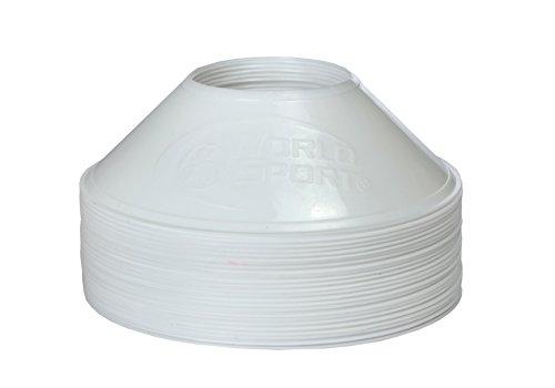 World Sport MINI Disc Cones White (25 Pack)…