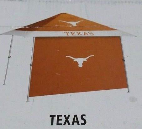 LOGO806293378020 12 X 12 Pagoda Texas Longhorns Logo Tailgate Canopy with Side Wall