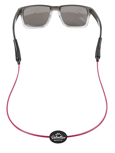 Rec-Strapz Sunglasses / Eyewear Retainer System for Active Lifestyle - Made in USA - Patent Pending Design – Universal fit for any Eye Glasses / Sunglasses - Pink - Costa Cheap Sunglasses