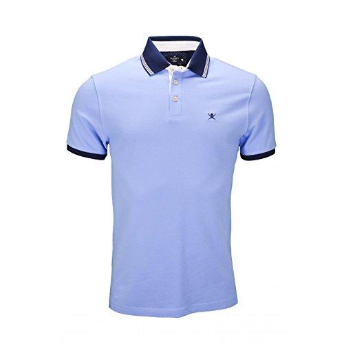 hackett-london-mens-woven-trim-polo-shirt-medium-blue