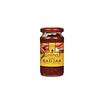 Amazon.com   Conimex Sambal Badjak Hot Chilli Paste (Economy Case ... fd65bcd339