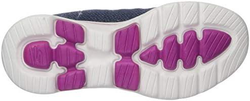 Skechers Women's GO Walk 5-15951 Shoe, Navy/Pink, 8.5 M US