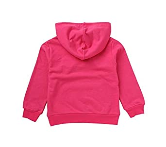 Bon Soir Girls Pullover Hoodie Sweatshirt Toddler Kid Solid Cotton Hooded Sweater 2-8t