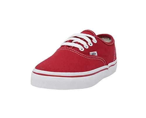 Vans Kids Kids' Authentic Core (Toddler), Red, 9.5 M (Red Vans Infant)