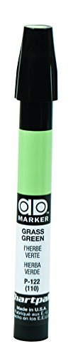 The Original Chartpak AD Marker, Tri-Nib, Grass Green, 1 Each (P122) from Chartpak, Inc.