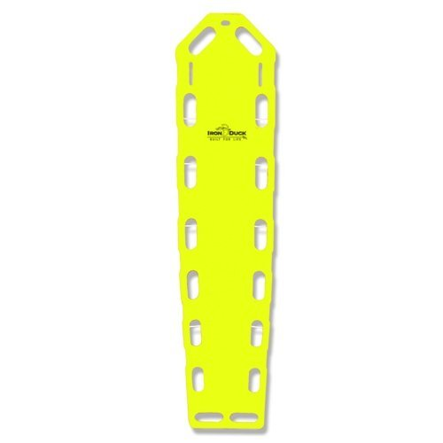 Iron Duck Neon Yellow Pro Lite Pro Eco Spinal Immobilization Backboard…Made in the USA! by Iron Duck
