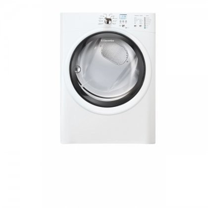 Electrolux EIGD50LIWIQ-Touch 8.0 Cu. Ft. White Stackable Gas Dryer by Electrolux (Image #1)