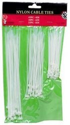 Nylon Clear Cable Ties 100 Pieces Case Pack 96 from D&D