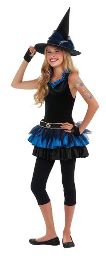 Rubie's Drama Queens Tween Mystical Witch Costume - Tween Medium (2- (Witch Queen Costume)