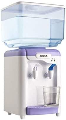 Jocca Dispensador de Agua con depósito, Blanco y Morado, 23x23x47 ...
