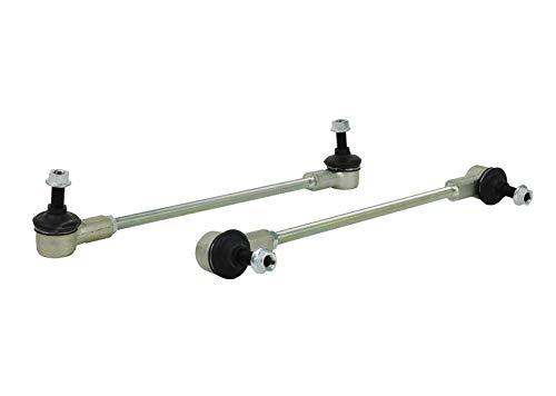 Heavy Duty Sway Bar - Whiteline W23180 Heavy Duty Sway Bar Link Assembly Universal Adjustable Ball Joint Type