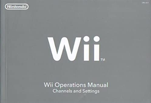 wii operations manual channels and settings nintendo nintendo rh amazon com Nintendo Wii Ports Nintendo Wii Manual Setup