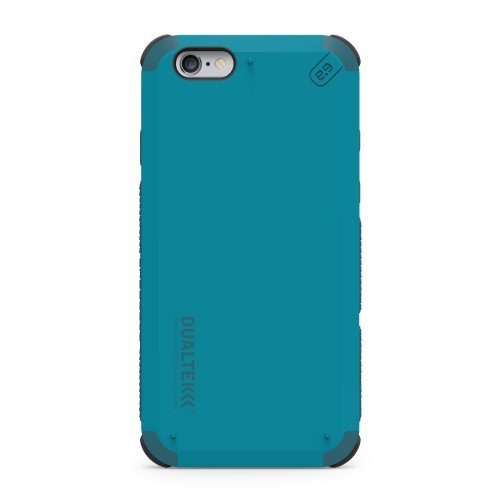 PureGear DualTek Snap On Durable Slim Protective Stylish Shock absorbing Case for iPhone 6S /6/, Caribbean Blue (Iphone 6 Cure Case)