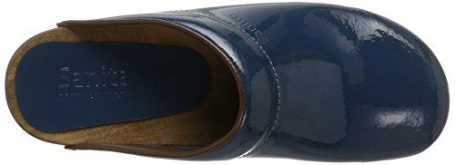 Sanita Classic Open Patent Petrol Maat Eu 41 - Us L10.5