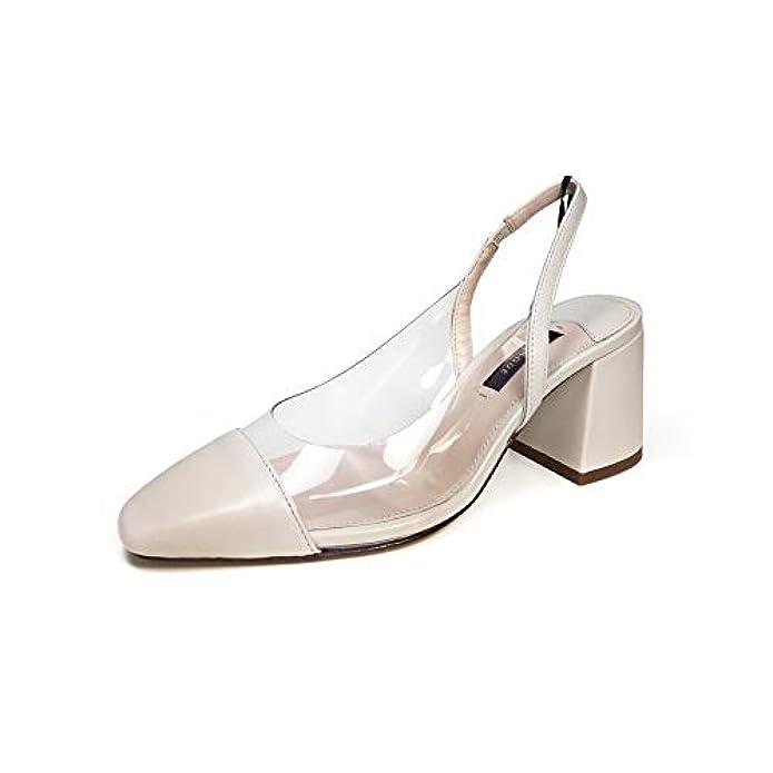 Uterque Donna Vinyl Slingback Shoes 5104 351