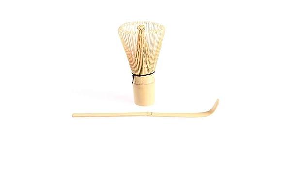 Batidor Chasen de bamb/ú Tradicional de 100 Varillas t/é Matcha