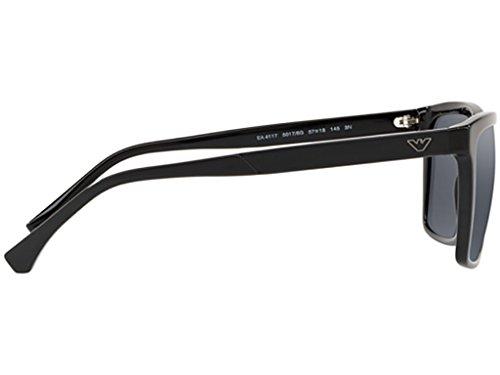 GREY BLACK Emporio 4117 EA Armani Sol Gafas de hombre wx00fFqH6