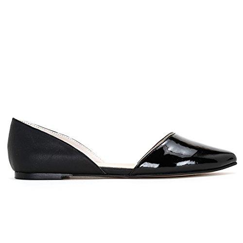 Donna amp;scarpe Scarpe Obsel Ballerine Nero wAtqq5