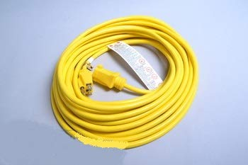 TRV Cord Assemble 14X3 50ft (SJT) Yellow Commercial 300 Volt Cord # 14-5424-01 by TRV