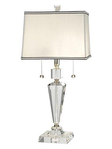 (Dale Tiffany GT12079 Danbrook Crystal Table Lamp, 10.5