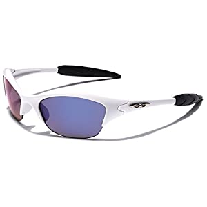 KIDS AGE 3-12 Half Frame Sports Sunglasses - Multiple Frame & Lens Colors