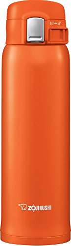 Zojirushi SM-SHE48DV Stainless Steel Mug, 16 ounce, Vivid Orange